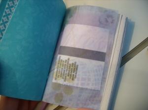 Vellum paper pocket